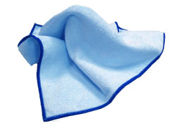 "12""x12"" Blue General Cleaning Microfiber Cloth, 12/bg.,"