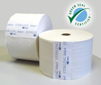 SSS Sterling Select Tissue, 2ply, 375ft/roll - (45/cs)