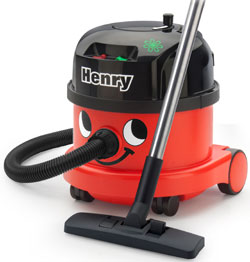 Nacecare Henry Dry Canister Vacuum w/ Tool Kit