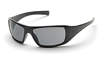 Impact ProGuard 870 Series Safety Glasses, Gray/Black