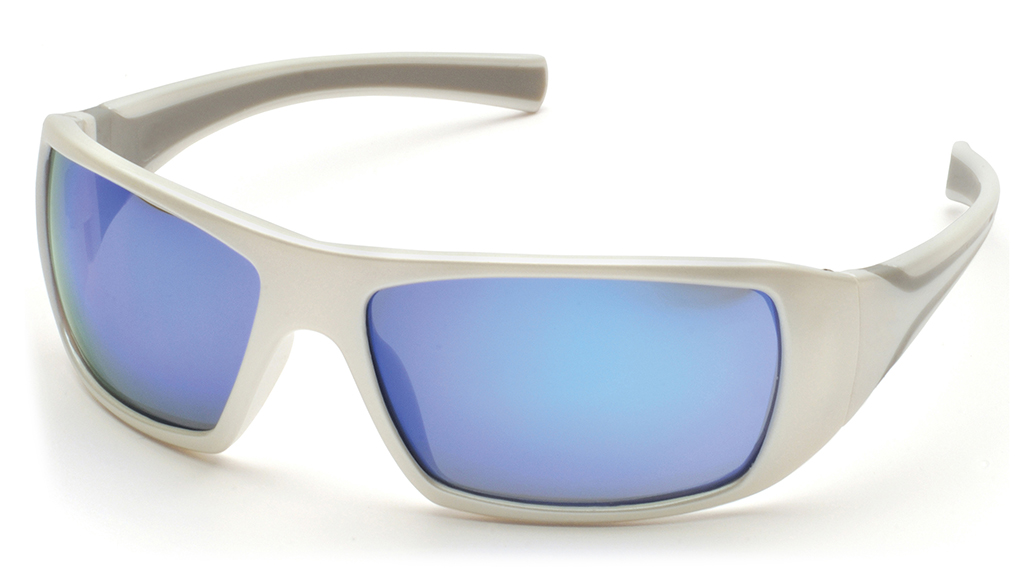Impact ProGuard 870 Series Safety Glasses, Ice Blue
