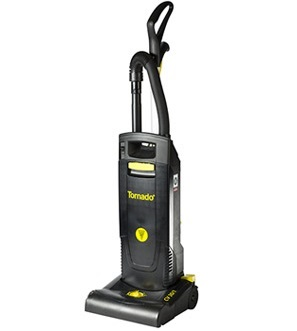 "Tornado 12"" Single Motor Upright Vacuum"