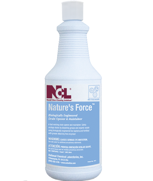 NCL Nature's Force Bio-Enzymatic Drain Opener &