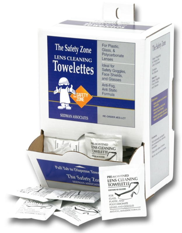 Lens Cleaning Towelettes (100/bx)
