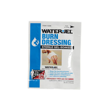 "2"" Water Jel Burn Dressing"
