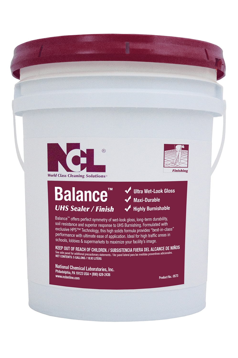 NCL Balance UHS Sealer/Finish