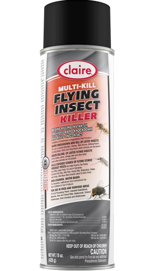 Claire Multi-Kill Flying Insect Killer, 20oz - (12/cs)